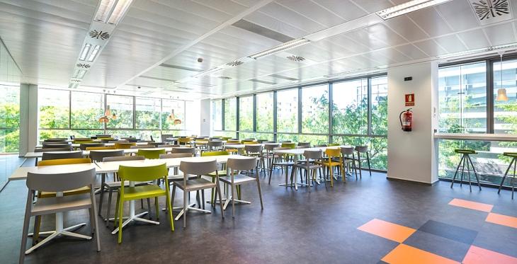 CINC Barcelona estrena nuevo office y zona de descanso