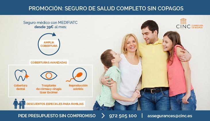 Promoción: Seguro de salud completo con descuentos especiales para familias