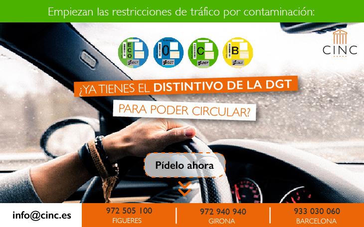 Etiqueta ambiental: ¿tienes ya el distintivo de la DGT para circular?