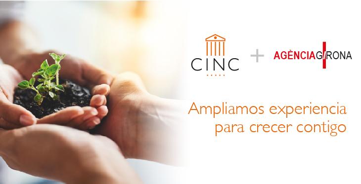 CINC Asesoría apuesta por el crecimiento integrándose con el despacho Agència Girona