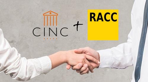 CINC signa un acord amb el RACC per oferir-te la millor assistència