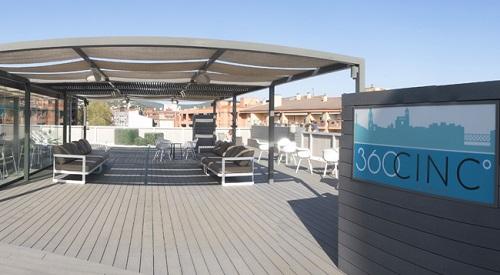 Aquesta primavera organitza els teus actes a la terrassa 360CINC